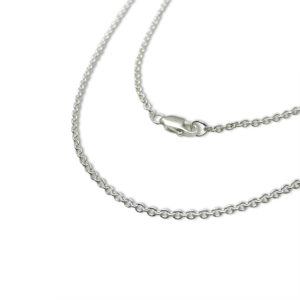 Cable chain for artwork drawing on jewelry pendants