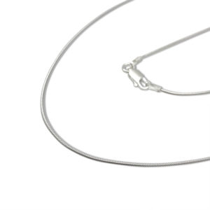 snake chain sterling silver thin for a chic look of jewelry