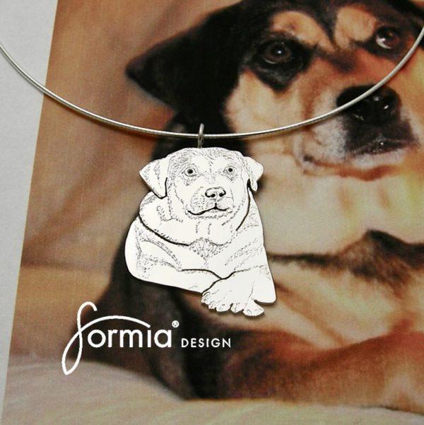 Pet keepsake pet photo pendant