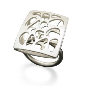 River rock ring shadow collection by Formia and Mia van Beek