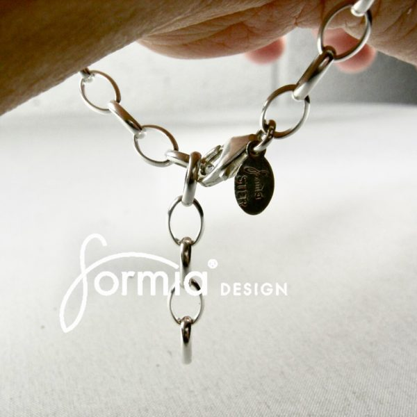 The clasp of sports bracelet, makes this bracelelet adjustable in length
