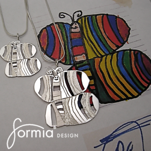 artwork pendant can be made in 3 different sizes custom made after your kids artwork