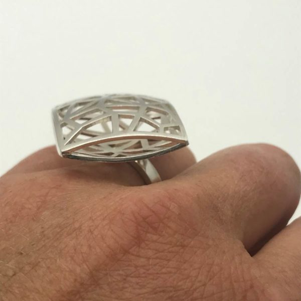 Geometry ring side view