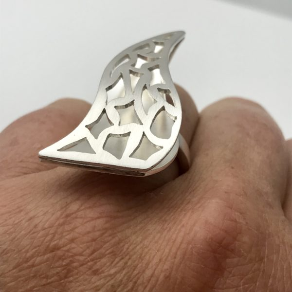 flame ring on the hand
